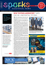 Image of TACS laboratories featured on Sparks Magazine